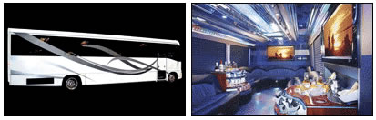The Big Show Limousine Bus