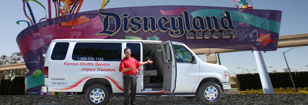 Disneyland Tours Transportation Shuttle