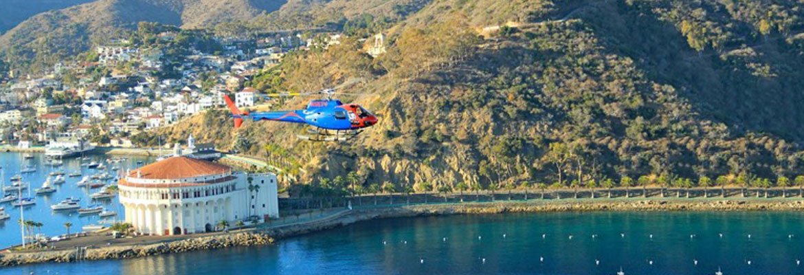 Catalina Helicopter Tour