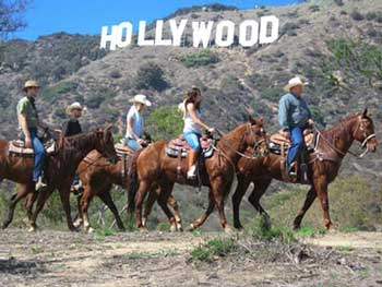 Hollywood Horseback Tour