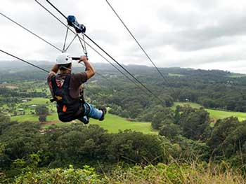 Catalina Zipline Tour
